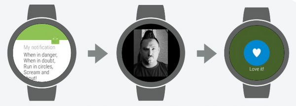 An Android Wear Talk